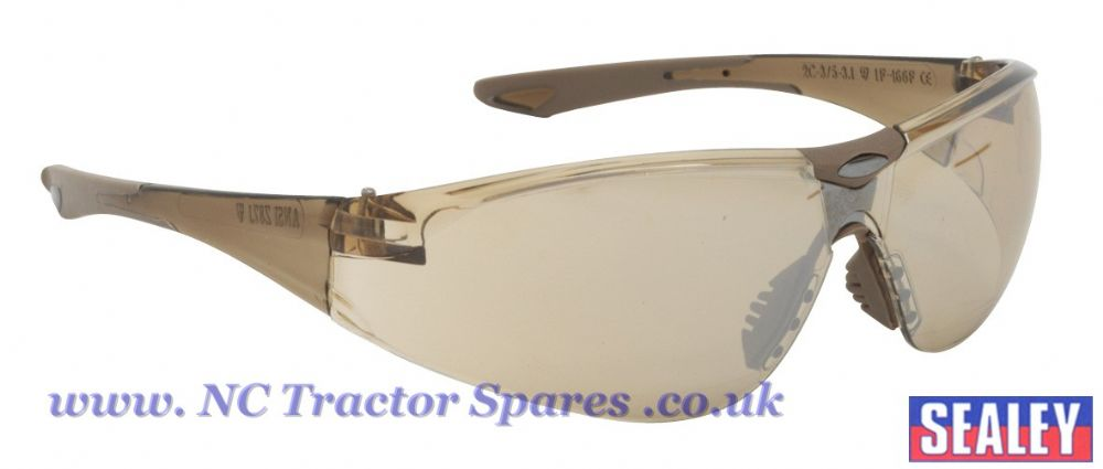 Safety Spectacles - Bronze Lens.